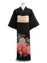 黒留袖レンタル2080正倉院華紋