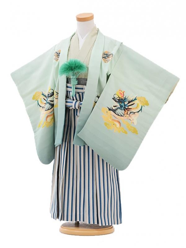 七五三レンタル(3歳男袴)2110ひさかたろまんグリーン