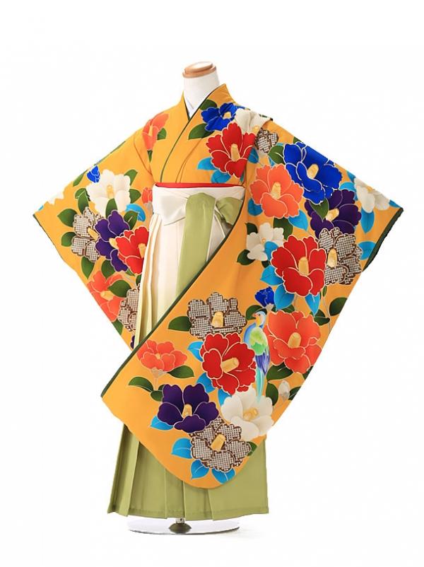 卒園式 ジュニア袴(女の子) 九重 7231