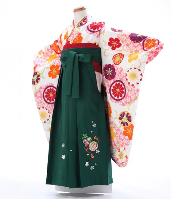 卒園式 ジュニア袴(女の子) 7211