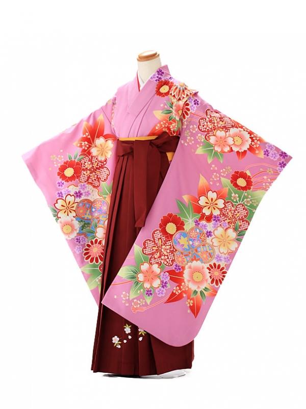 卒園式 ジュニア袴(女の子) maomao 紫 7269