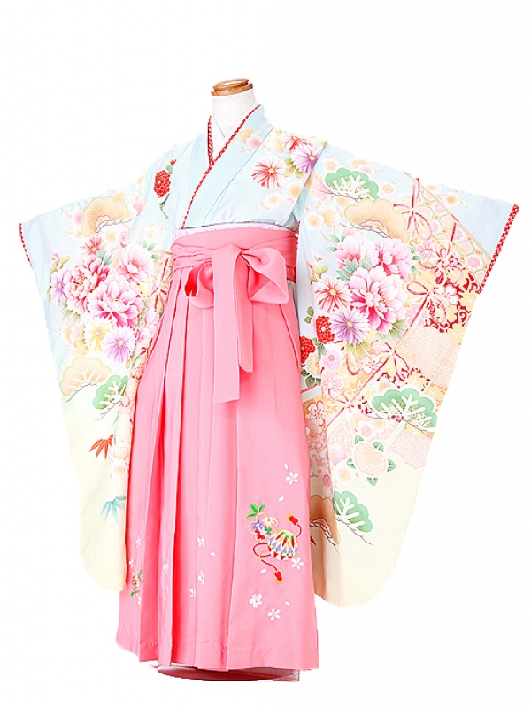 【乙葉】卒園式 ジュニア袴(女の子)  7213