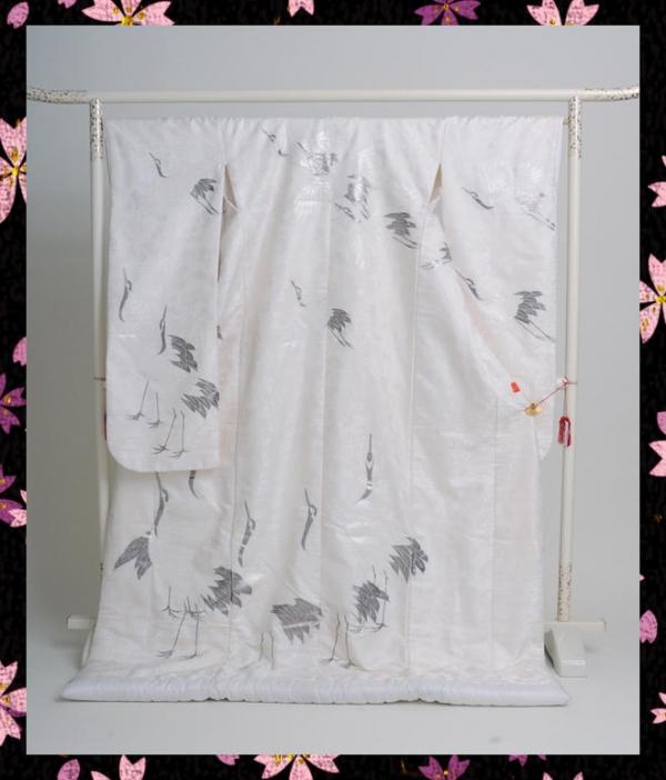 白無垢k003鶴友禅フルセットレンタル