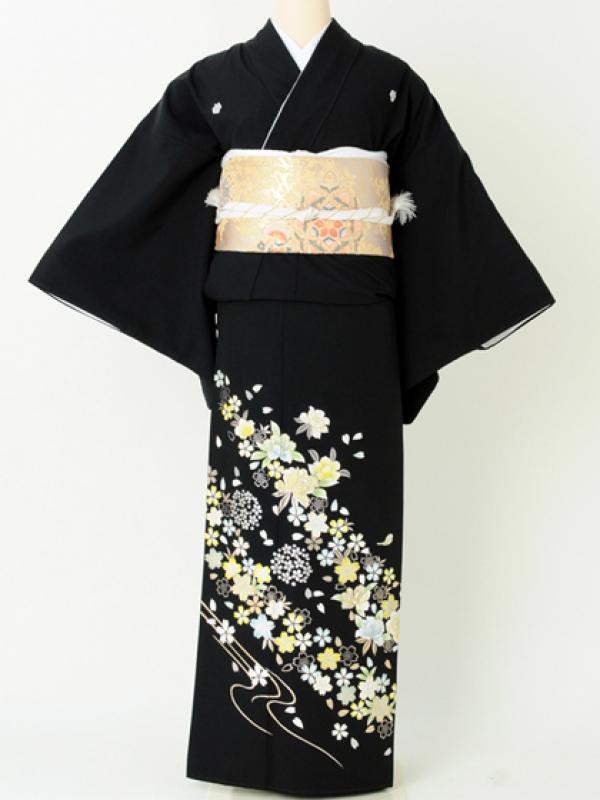 留袖111金彩桜