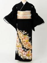 留袖187束ね熨斗桜つつみ