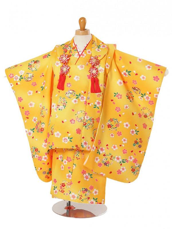 753レンタル(3歳女被布)被布21桜