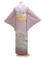 色留袖 うす紫 0025