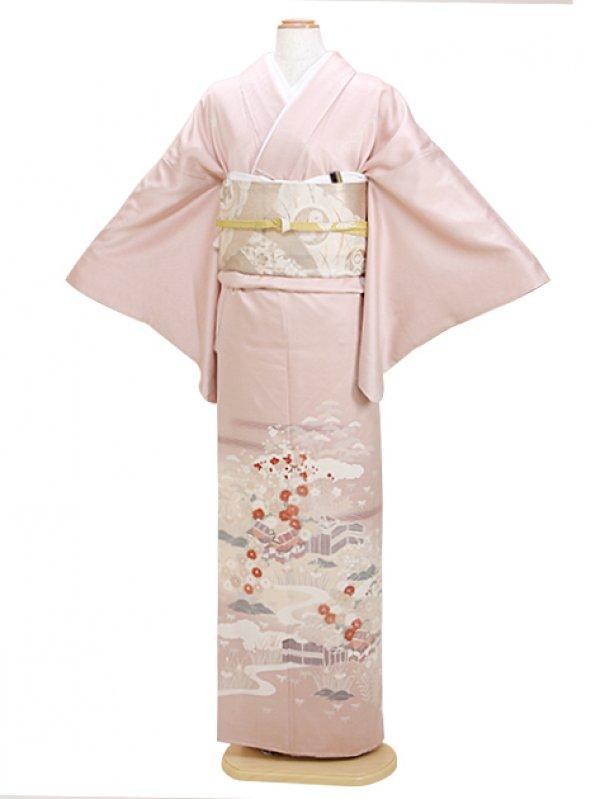 色留袖 うすピンク 0027