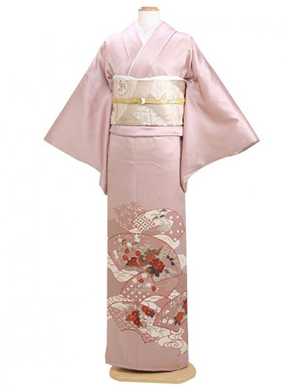 色留袖 ピンク 0026