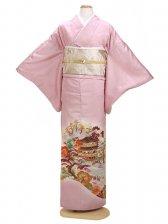 色留袖 ピンク 0011