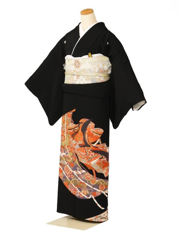 黒留袖0123几帳姫(正絹)