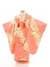 753レンタル(3歳女)3006オレンジピンク蝶