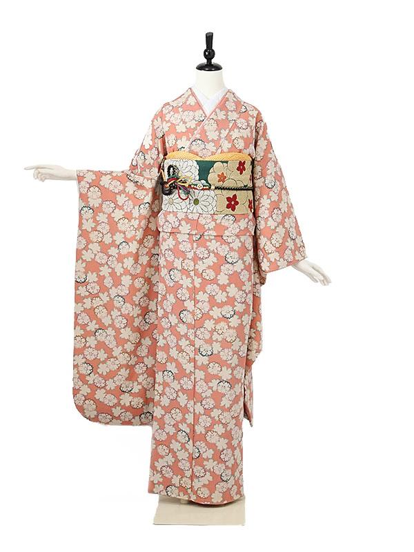 振袖0025 ピンク 桜