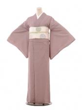 夏小紋595 紫 鮫文様(化繊 絽 夏)