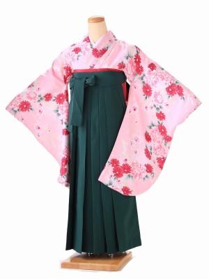 卒業式 女袴  H064 ピンク
