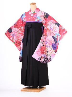 卒業式 女袴  H096 ピンク