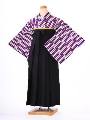 卒業式 女袴  H103 矢羽 紫