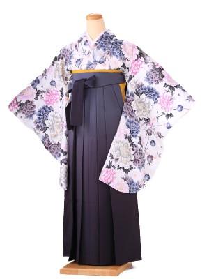卒業式 女袴  H092 白