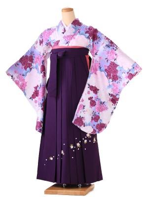 卒業式 女袴  H084 紫
