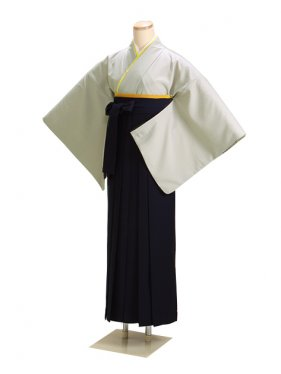 卒業式袴 グレー L108【身長160cm位】