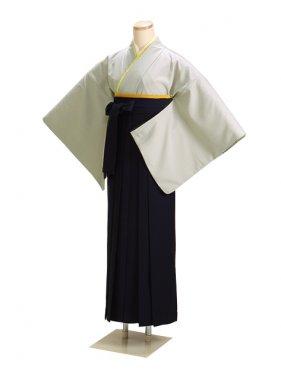 卒業式袴 グレー L108【身長155cm位】