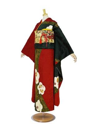 振袖 赤/レッド/red No.120