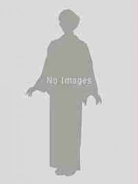 桂由美・薄紫ぼかし・金&白色大輪の菊柄