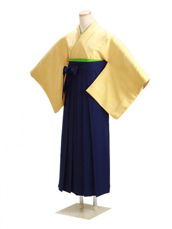 卒業式袴 無地 クリーム DD22 花紺袴【身長155cm位】