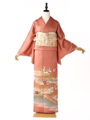 色留袖5127菊花の舞