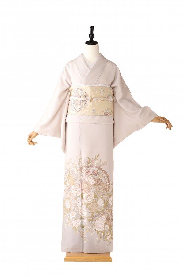 色留袖5125花とチャペル 桂由美