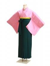 卒業式袴 正絹 ピンク 59【身長155cm位】