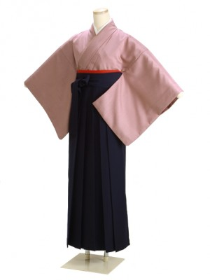卒業式袴 あずき 17 紺袴【身長155cm位】