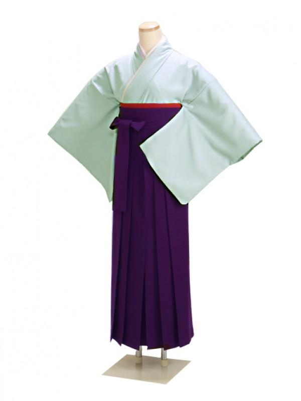 卒業式袴 ブルーグレー 16 紫袴【身長155cm位】
