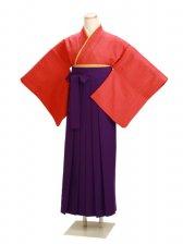 卒業式袴 正絹 レンガ 37【身長155cm位】
