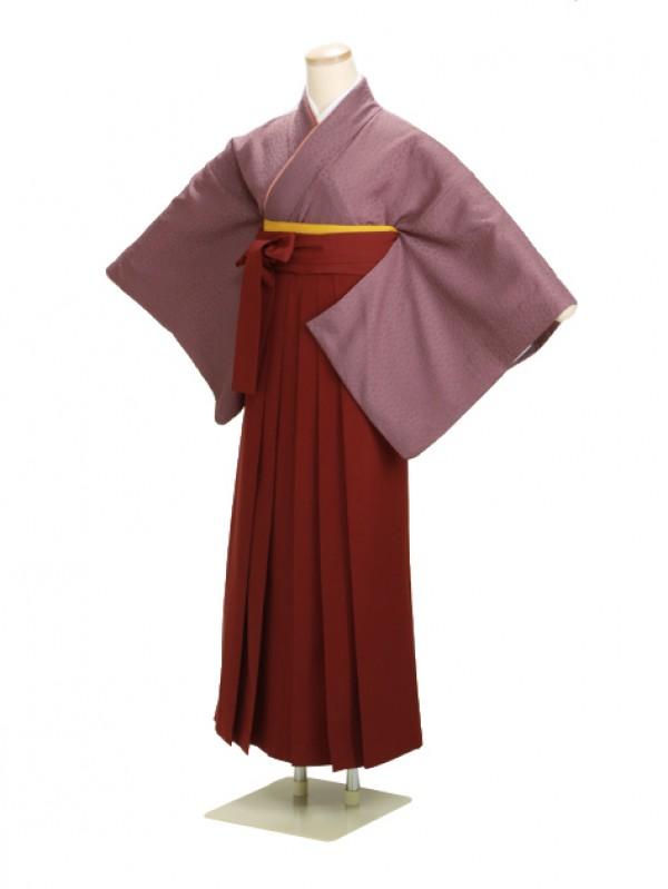 卒業式袴 正絹 紫 78【身長160cm位】