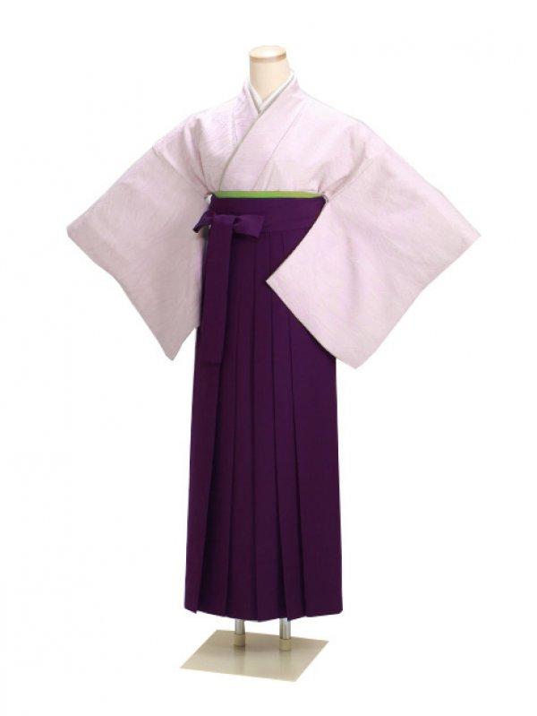 卒業式袴 正絹 薄紫 50 紫袴【身長160cm位】