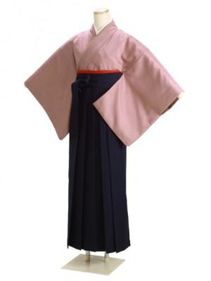 卒業式袴 あずき 17 紺袴【身長150cm位】
