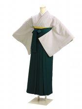 卒業式袴 薄グレー 93【身長155cm位】
