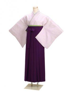 卒業式袴 正絹 薄紫 50 紫袴【身長150cm位】