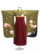 七五三 袴 5~7歳女児 139 卒園式 入学式