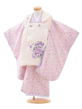 七五三(3歳女被布)3264 JILLSTUART スミレ刺繍