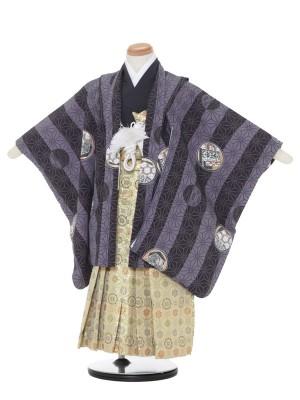 七五三レンタル(4・5歳男袴)7512グレー/1015