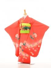 753レンタル(7歳女)7099オレンジぼたん裾桜