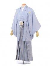 成人式卒業式袴レンタル(男)D028シルバーグレー紋付