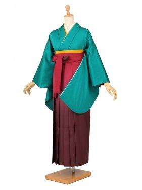 卒業袴レンタル 004緑