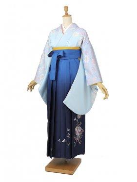 卒業袴レンタル 018水色
