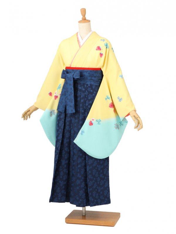 卒業袴レンタル 017黄色