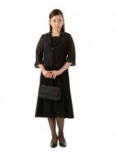 女性サマーブラックフォーマル 1CQ0046  (11号)