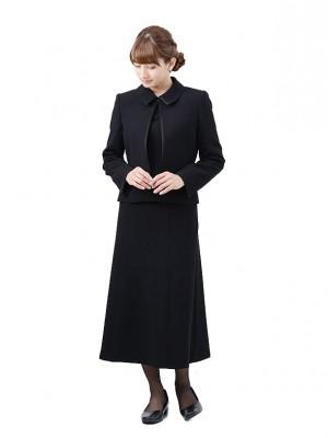 【K017】7号(S)~15号(3L) スカートスーツ