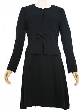 [東京発送]女性ブラックフォーマルNAZK011アンサンブル
